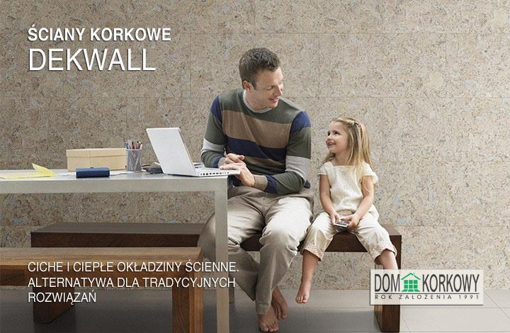 Ściany korkowe Dekwall