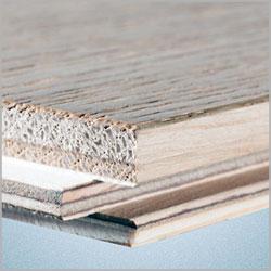 Trówarstwowa konstrukcja podłogi