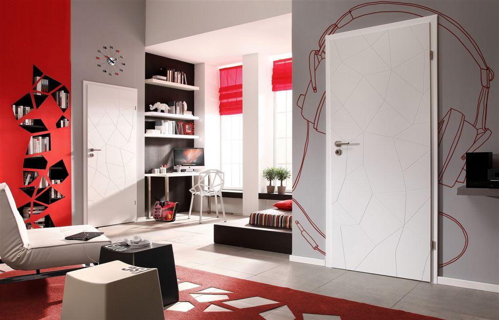Białe drzwi Porta Vector Premium