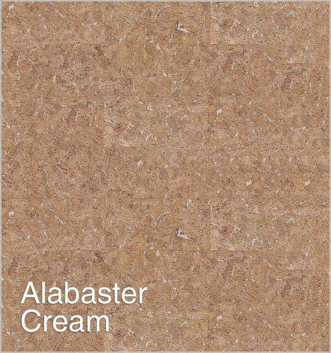Korek na ścianę Alabaster Cream