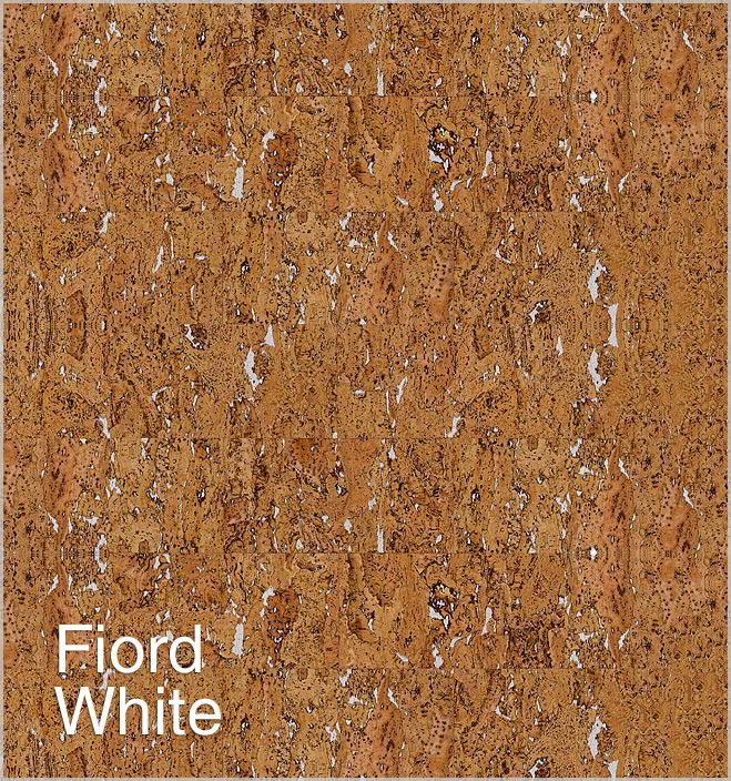 Korek na ścianę Fiord White