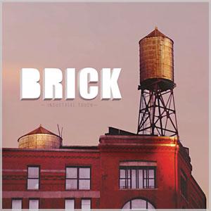 Korek ścienny Brick jak nieobrobiona cegła