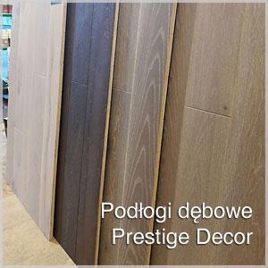 Dębowe deski podłogowe Prestige Decor
