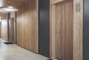 Drzwi wejściowe do mieszkania Gradara