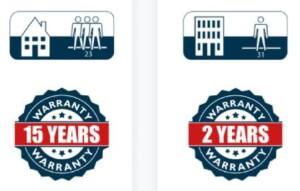 NomadFlo gwarancja 15 lat