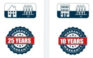 NomadFlo gwarancja 25 lat