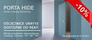 Promocja na ościeżnice ukryte Porta Hide